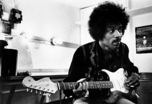 Jimi Hendrix stratocaster leftie