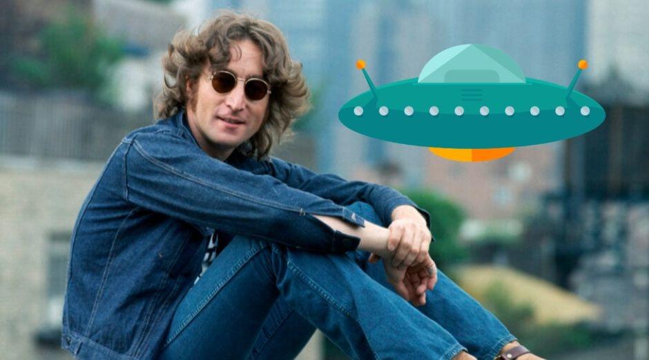 John Lennon ufo