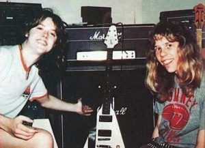 Lars Ulrich James Hetfield