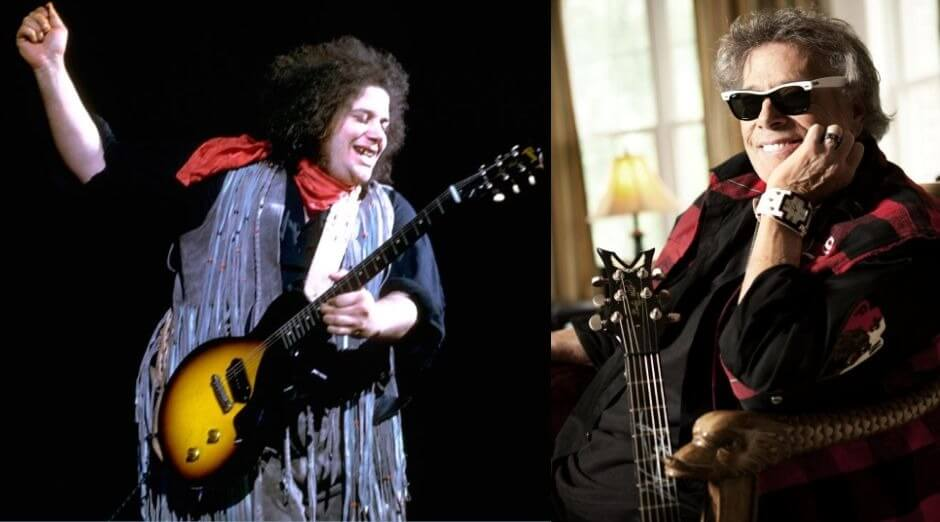 Leslie West now and then