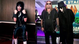 Mick Mars now and then