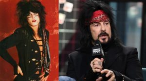 Nikki Sixx now and then