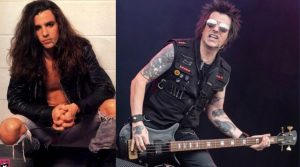 Rachel Bolan now and then
