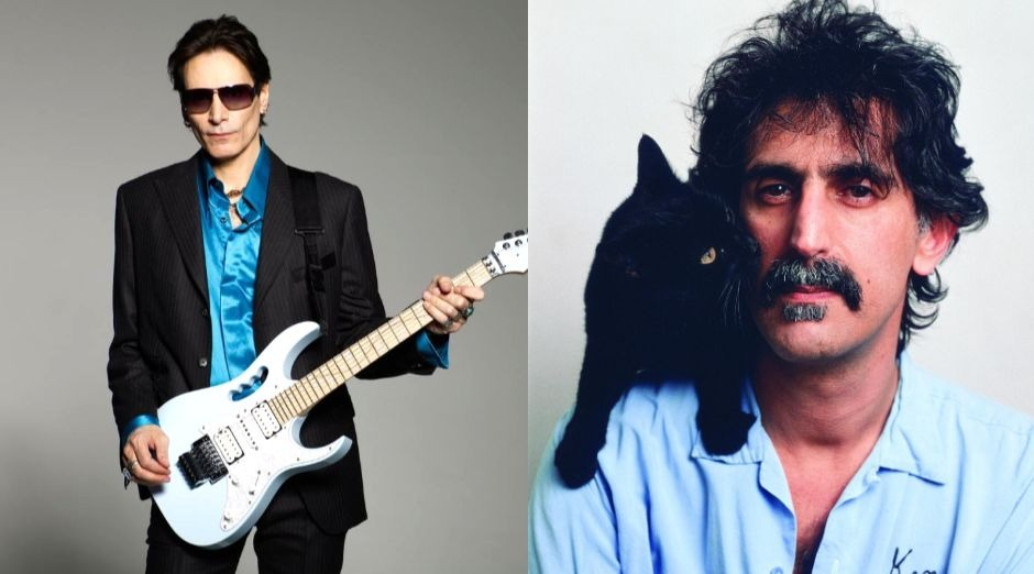Steve Vai Frank Zappa