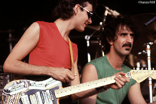 Steve Vai with Frank Zappa