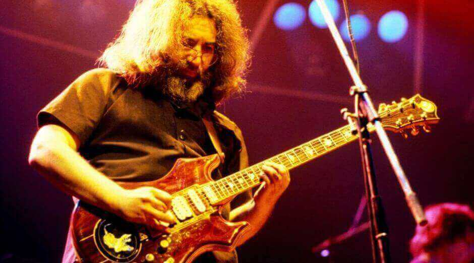 Tiger Jerry Garcia guitar