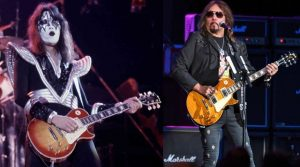 Ace Frehley now and then