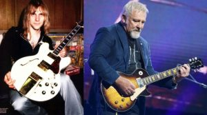 Alex Lifeson now and then