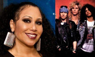 Backup singer Guns N' Roses