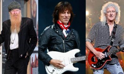 Billy Gibbons Jeff Beck Brian May