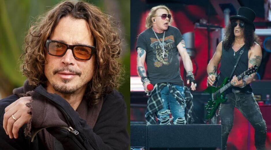Chris Cornell Guns N Roses