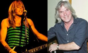 Cliff Williams now and then