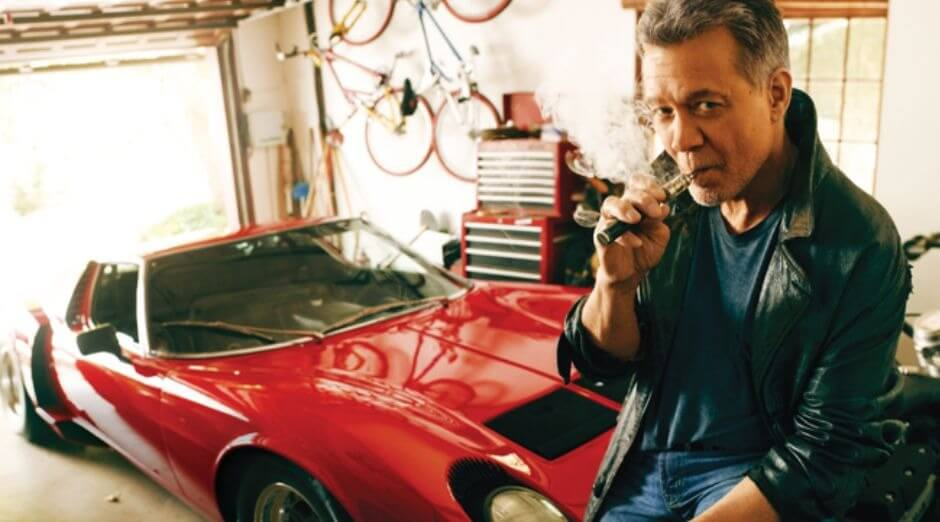 Eddie Van Halen cars