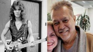 Eddie Van Halen now and then
