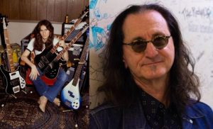 Geddy Lee now and then