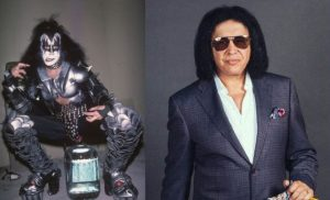 Gene Simmons now and then
