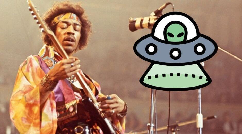 Jimi Hendrix UFO