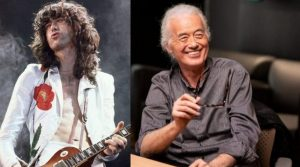 Jimmy Page now and then