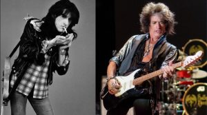 Joe Perry now and then