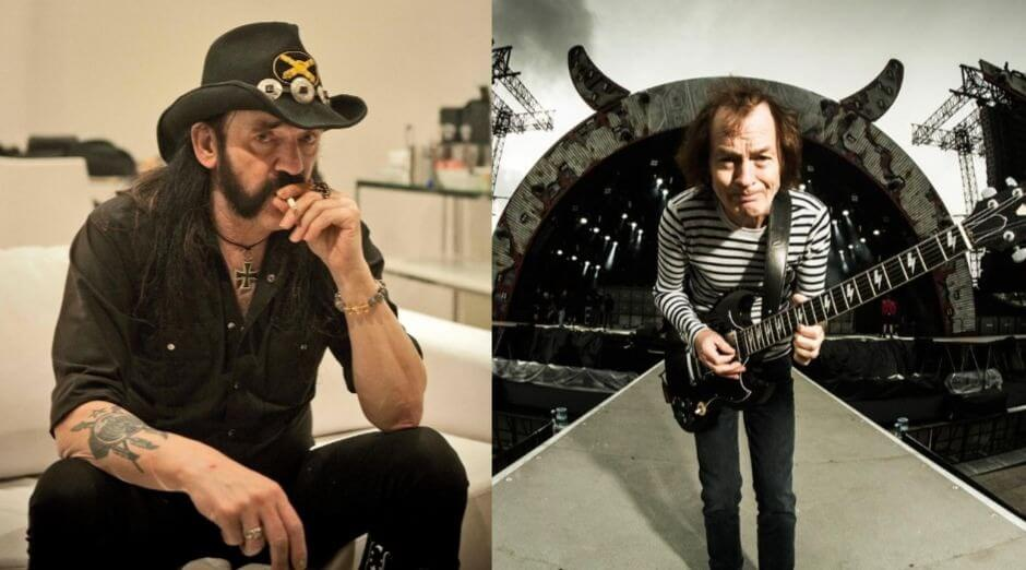 Lemmy Kilmister Angus Young