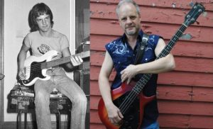 Mark Evans now and then