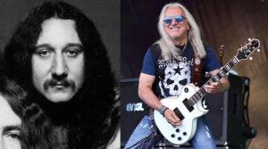Mick Box now and then