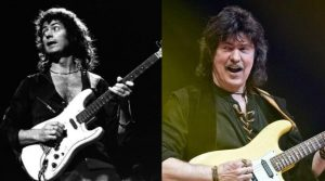 Ritchie Blackmore now and then