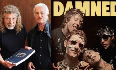 Robert Plant Jimmy Page The Damned