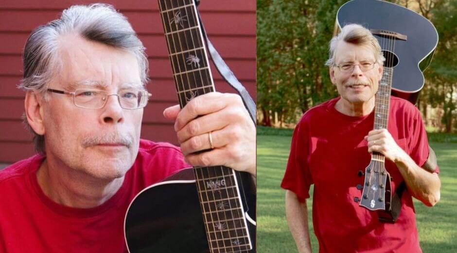Stephen King guitar