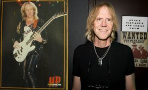 Tom Hamilton now and then