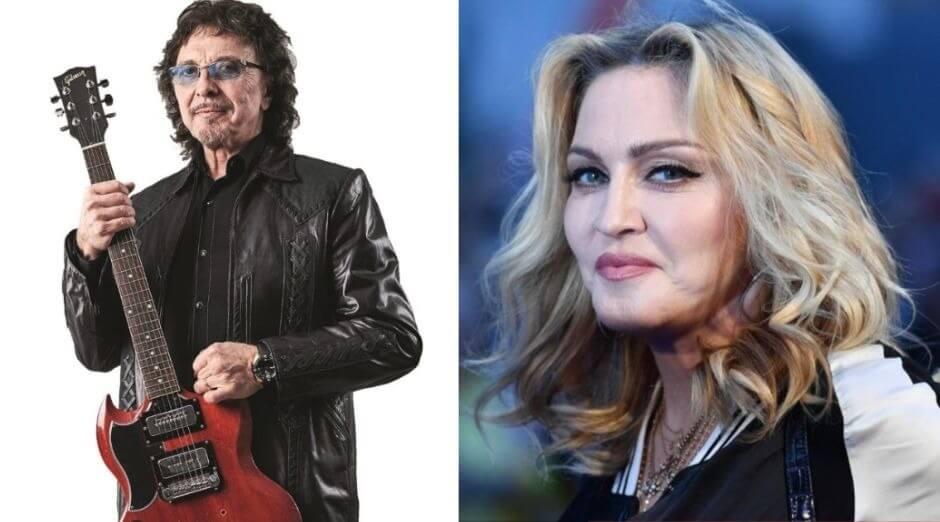 Tony Iommi Madonna