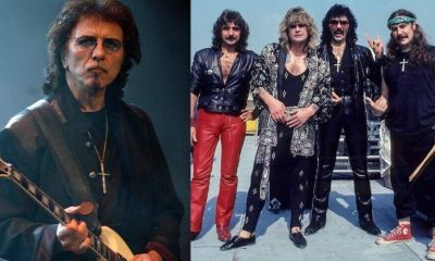 Tony Iommi live aid