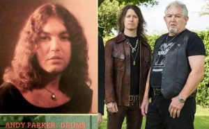 Andy Parker now and then