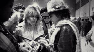 Bob Dylan autograph Sharon Stone