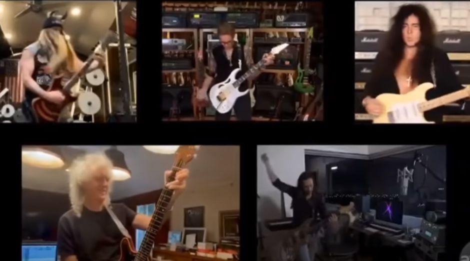 Brian May Steve Vai