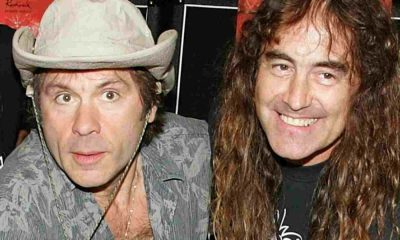 Bruce Dickinson Steve Harris