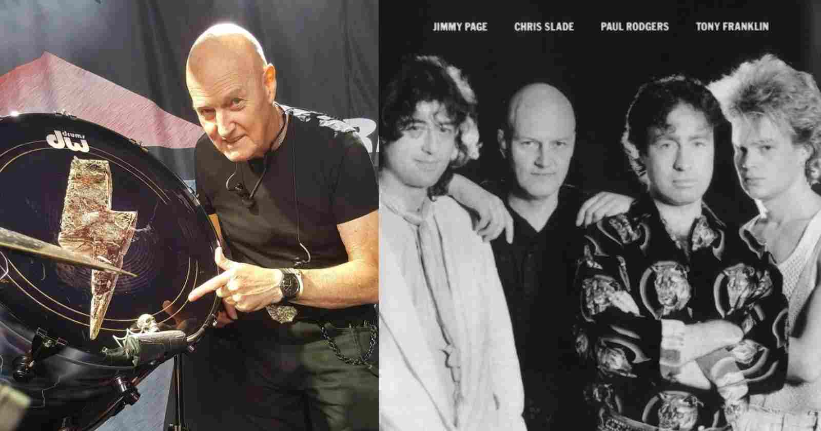 Chris Slade The Firm