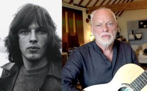 David Gilmour now and then