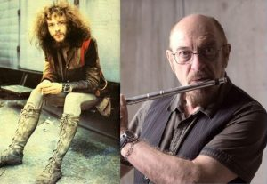 Ian Anderson now and then