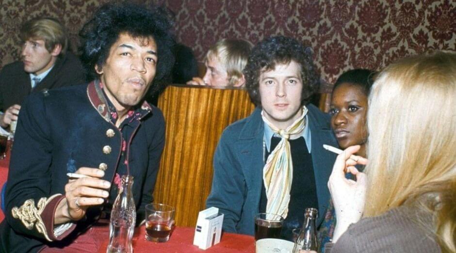 Jimi Hendrix Eric Clapton