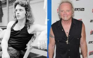 Joey Kramer now and then