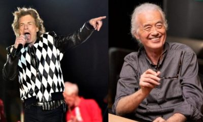 Mick Jagger Jimmy Page