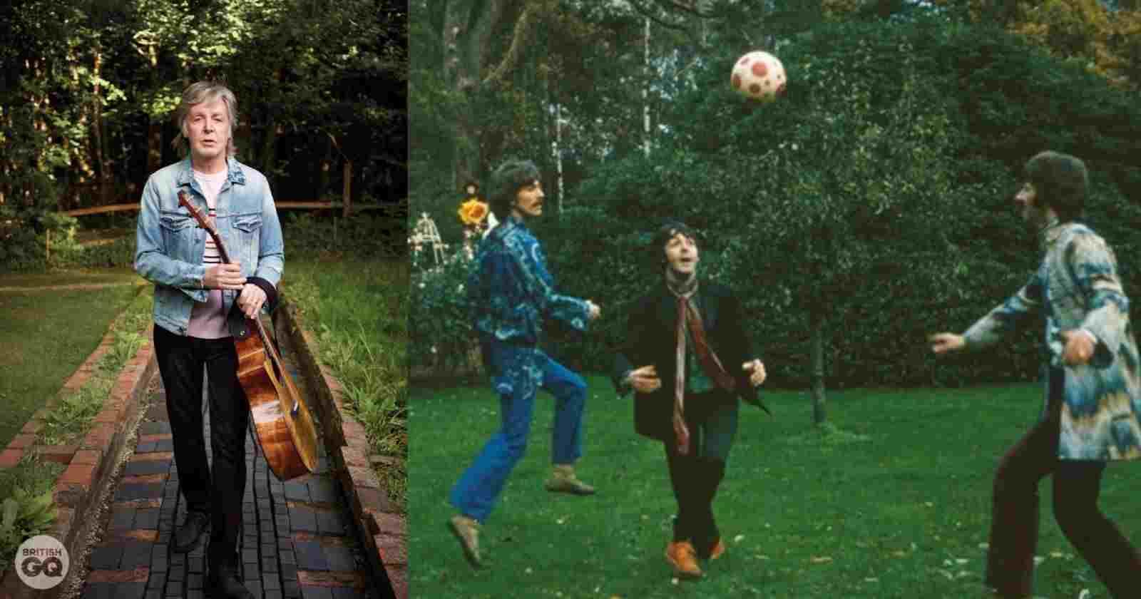 Paul McCartney Football