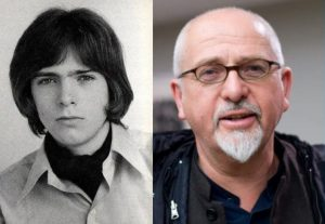 Peter Gabriel now and then