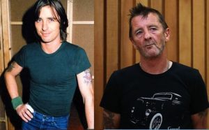 Phil Rudd now and then