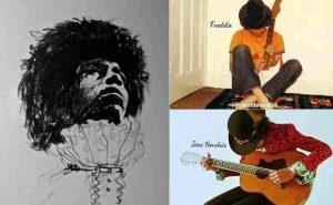 Freddie Mercury Jimi Hendrix