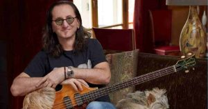 Geddy Lee reveals his favorite singer, album and guitarist of all time