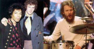 Ginger Baker Eric Clapton Jimi Hendrix