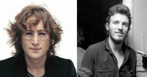 John Lennon Bruce Springsteen