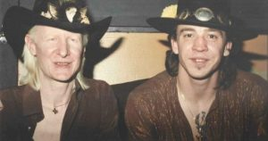 Johnny Winter Stevie Ray Vaughan